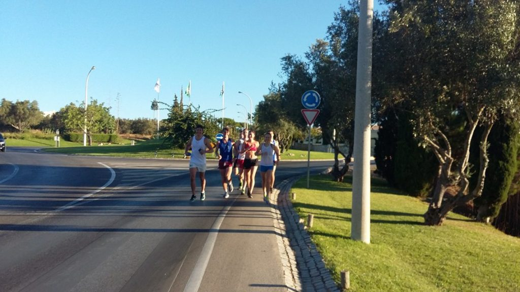 OUCCC group training run